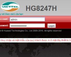 Hướng dẫn đổi mật khẩu wifi VIETTEL