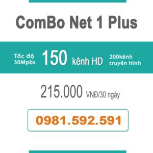 Gói Cước ComBo Flexi 1 (30Mbps + Truyền Hình)