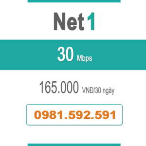 Gói Cước Net 1 – Plus – 30Mbps